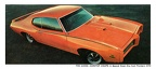 1969 GTO Judge Postcard