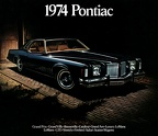 1974 Pontiac Full Line Catalog