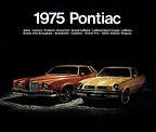 1975 Pontiac Full Line Catalog