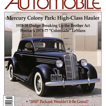 Collectible Automobile - October, 2009