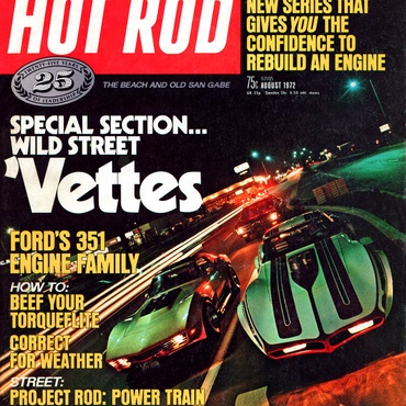 Hot Rod - August, 1972