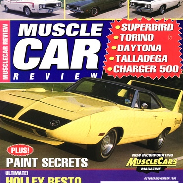 Muscle Car Review - Oct-Nov, 1995