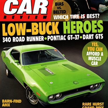 Muscle Car Review - September, 2011