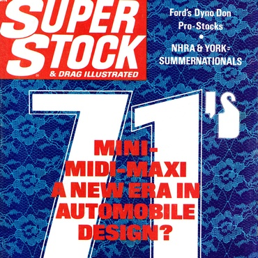 Super Stock & Drag Illustrated - October, 1970
