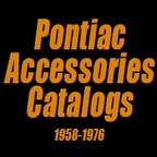 Pontiac Accessories - 1958-1976