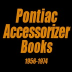 Pontiac Accessorizer Books - 1956-1974